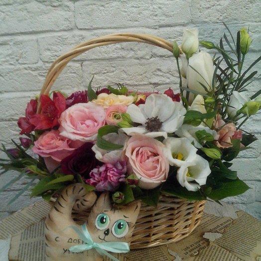 Моему котику!: букеты цветов на заказ Flowwow