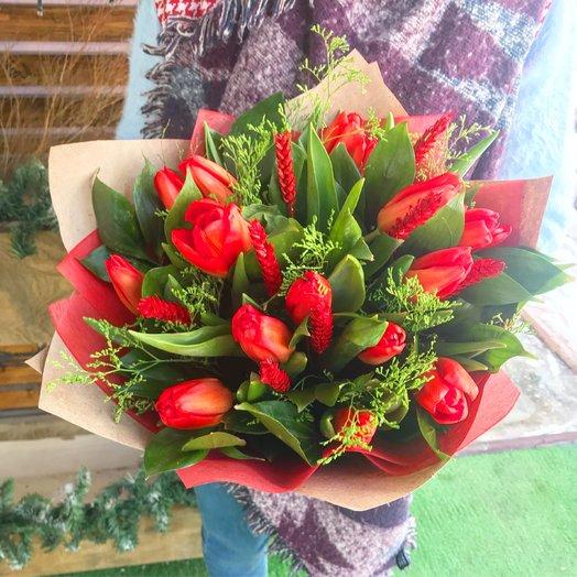 Аленький цветочек : букеты цветов на заказ Flowwow