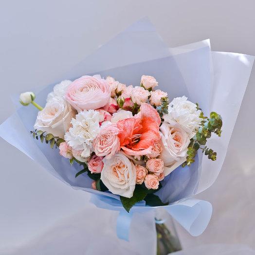 Персиковое утро: букеты цветов на заказ Flowwow