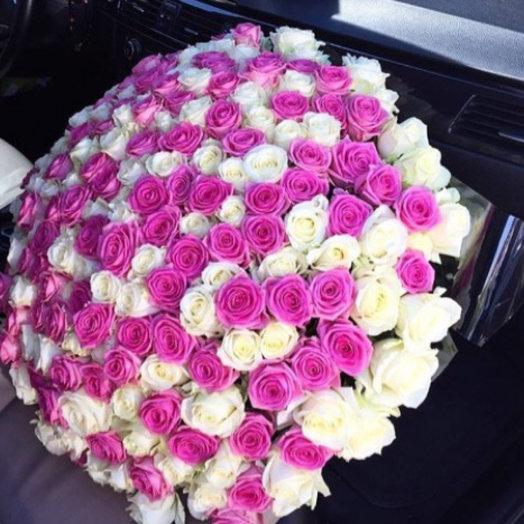 Роза 201: букеты цветов на заказ Flowwow