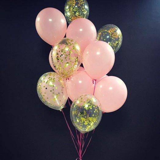 """Воздушная композиция """"Роскошный розовый"""": букеты цветов на заказ Flowwow"""
