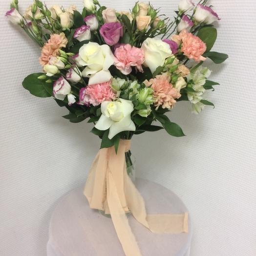 Персиковый зефир: букеты цветов на заказ Flowwow