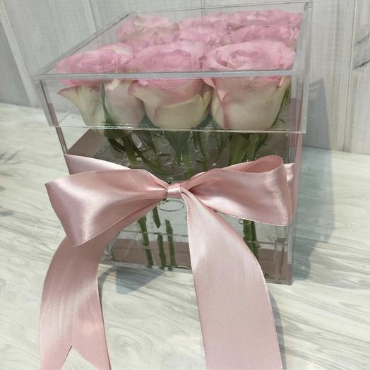Аква бокс: букеты цветов на заказ Flowwow