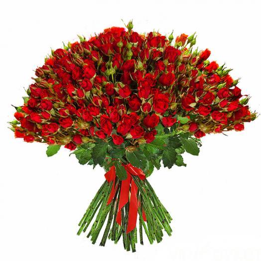 """Букет """"Яркий поцелуй"""": букеты цветов на заказ Flowwow"""