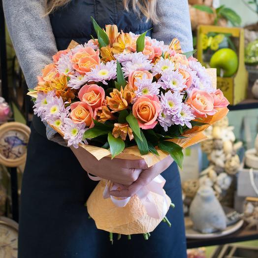 """Букет цветов """"Осенние мотивы"""""""
