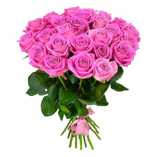 Букет розовой розы: букеты цветов на заказ Flowwow