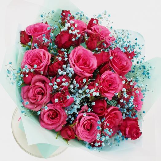 Зимняя вишня: букеты цветов на заказ Flowwow