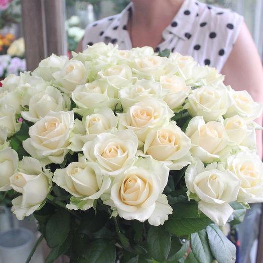 39 роз Аваланж: букеты цветов на заказ Flowwow