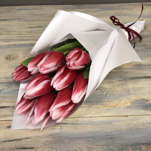 Монобукет-тюльпаны: букеты цветов на заказ Flowwow