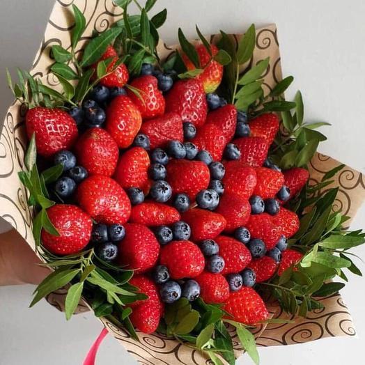 Клубничный букет «Strawberry Wood