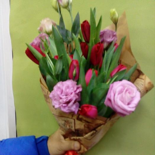 Сама строгость: букеты цветов на заказ Flowwow