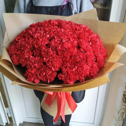 Букет 51 гвоздика: букеты цветов на заказ Flowwow