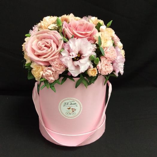Розовая гамма: букеты цветов на заказ Flowwow