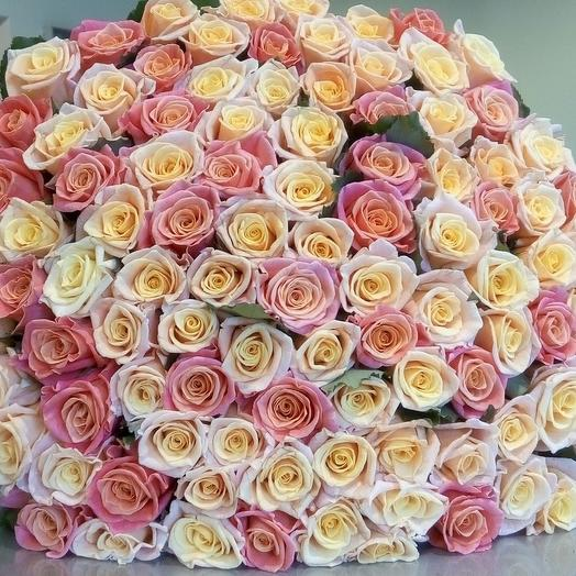 Хит Продаж!Ароматные розы: букеты цветов на заказ Flowwow