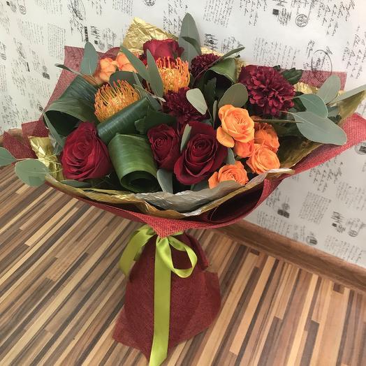 Цвет Бордо: букеты цветов на заказ Flowwow