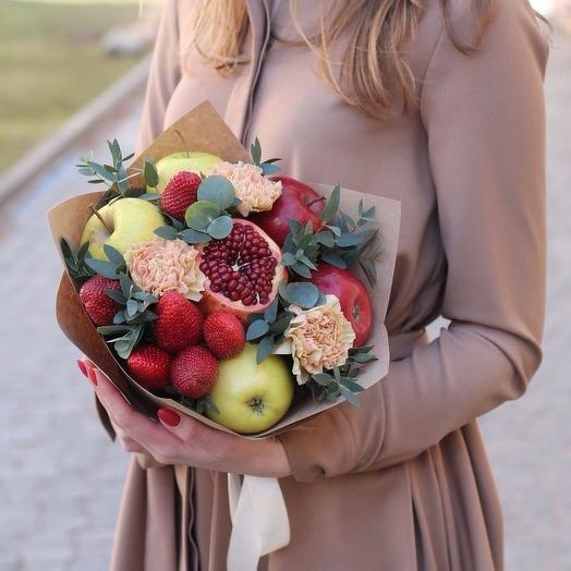 Фруктовый микс: букеты цветов на заказ Flowwow