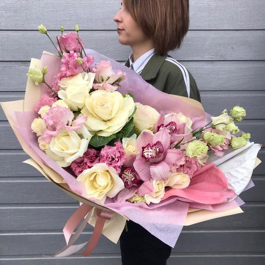 """Сборный букет """"Вдохновение"""": букеты цветов на заказ Flowwow"""