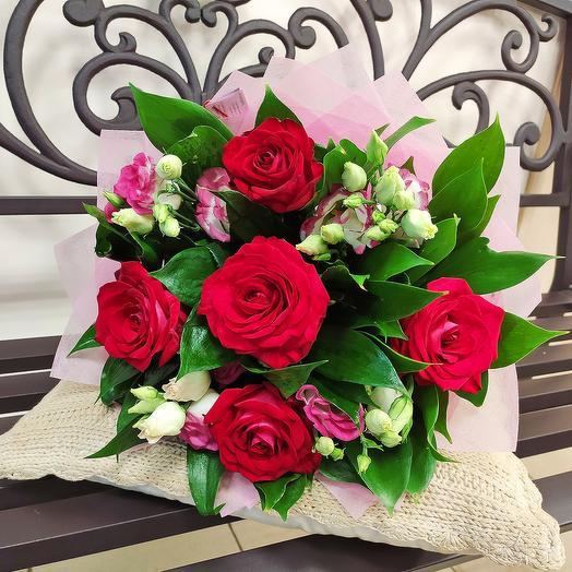 Букет Бархат: букеты цветов на заказ Flowwow