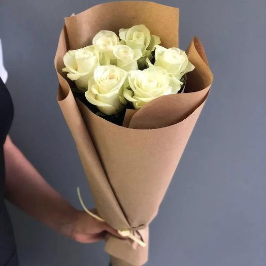 Нежные розы: букеты цветов на заказ Flowwow