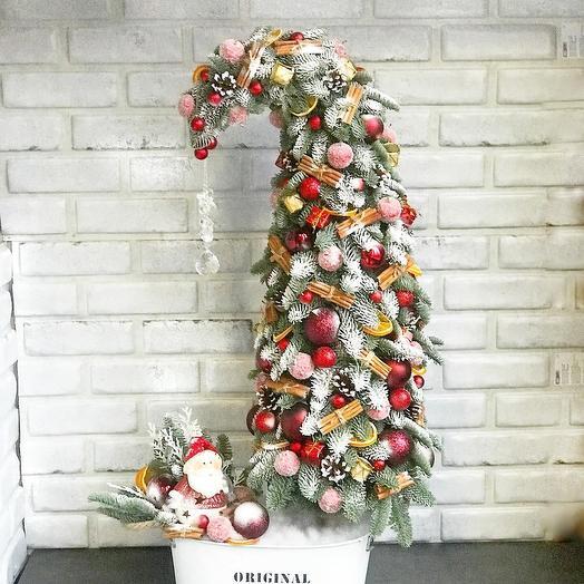 Дизайнерская ёлочка: букеты цветов на заказ Flowwow