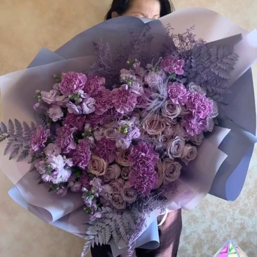 Букет «Космос»: букеты цветов на заказ Flowwow