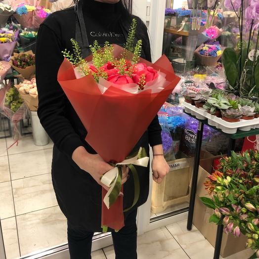 Букет краснота: букеты цветов на заказ Flowwow