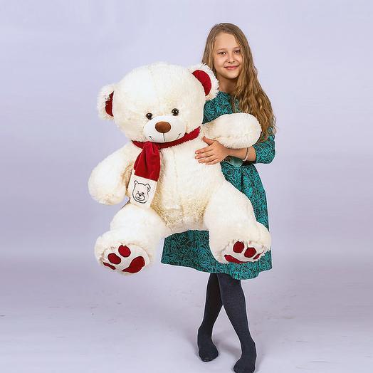 Большой Медведь Кельвин 110 см (молочный)