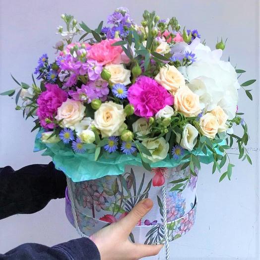 """Коробка с цветами """"Анет"""""""