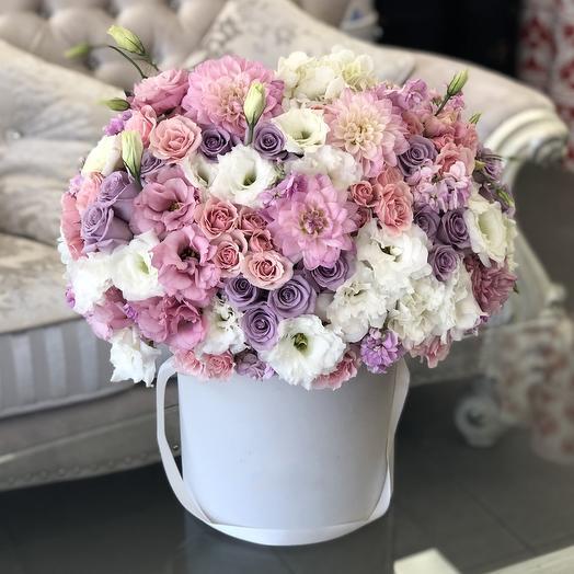 Коробка с цветами Мальдивы