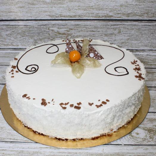 """Торт """"Белый танец"""""""