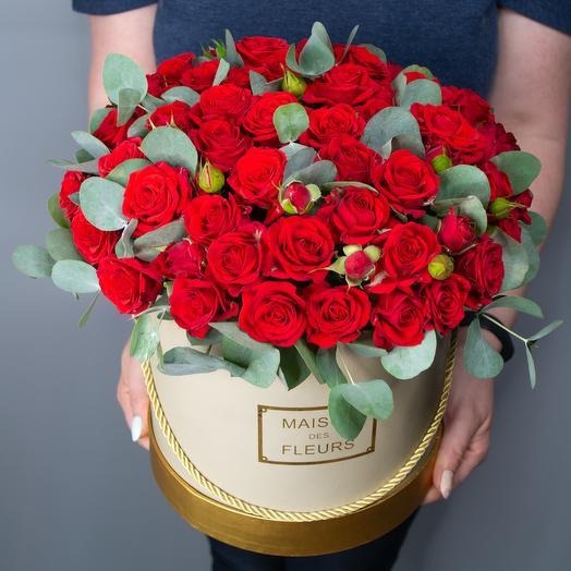 Коробочка с розами 11