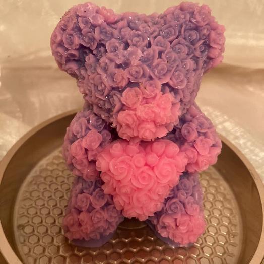 Мишка из мыла