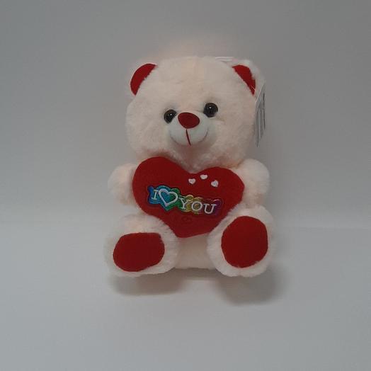 Bear soft with a heart