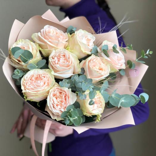 Букет роз Гарден Спирит