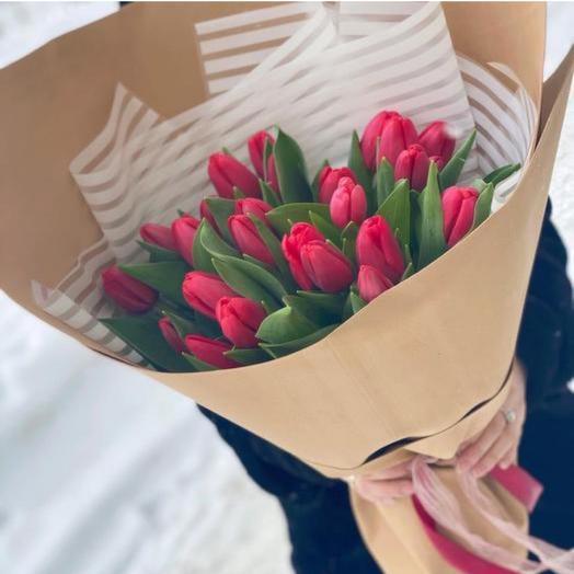 Букет «Сезон тюльпан»