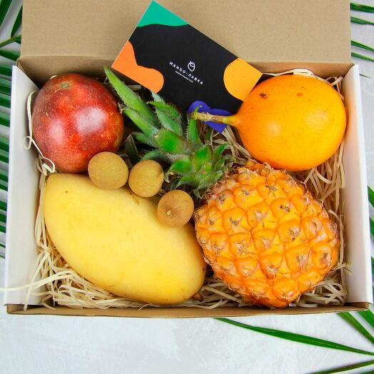 Коробка с фруктами Мини-1