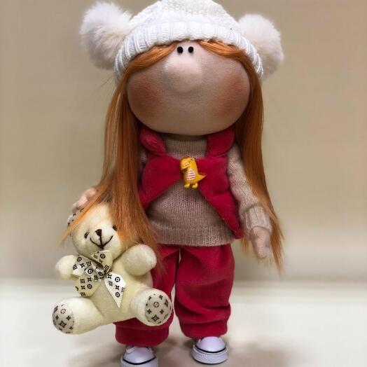 Кукла ручной работы Анастасия