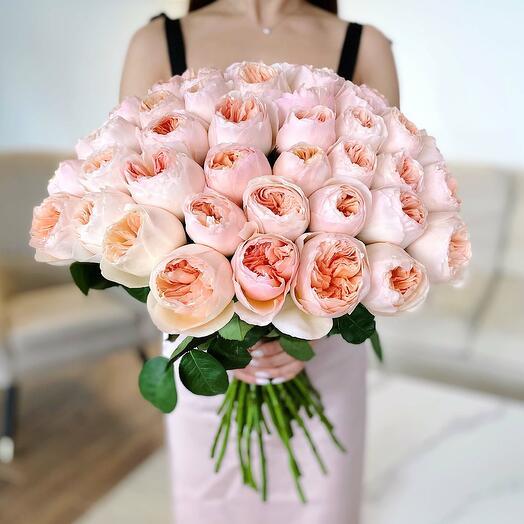 """Букет из 51 розы """"Juliet"""""""