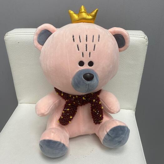 Мишка с короной