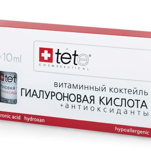 Гиалуроновая кислота + Антиоксиданты / TETe Hyaluronic Acid   Antioxidants (Vit.C) 3*10 ml