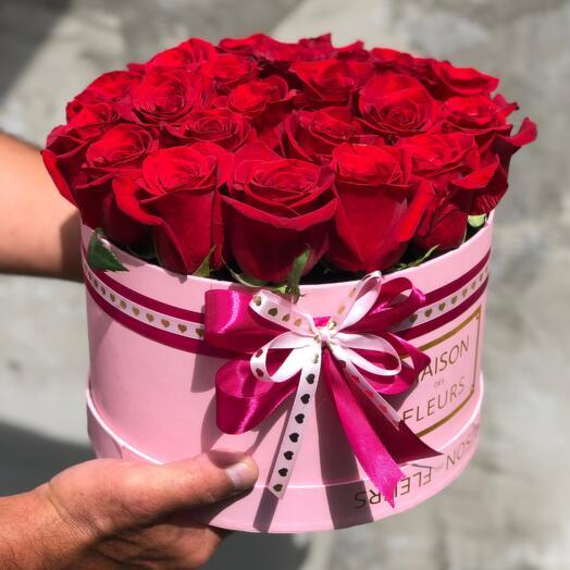 Композиция Красных Роз