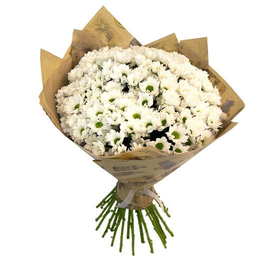 Букет из ромашковых хризантем: букеты цветов на заказ Flowwow