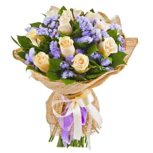БЦ-154022 Ваниль и лаванда: букеты цветов на заказ Flowwow