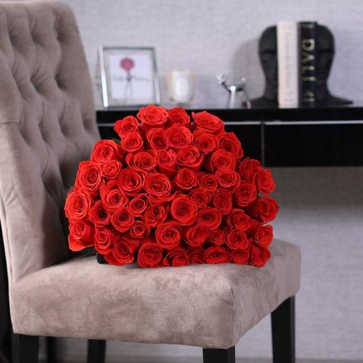 Букет из 51 розы Nina