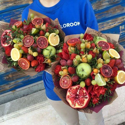 "A beautiful bouquet of ""Fruit spirits"""