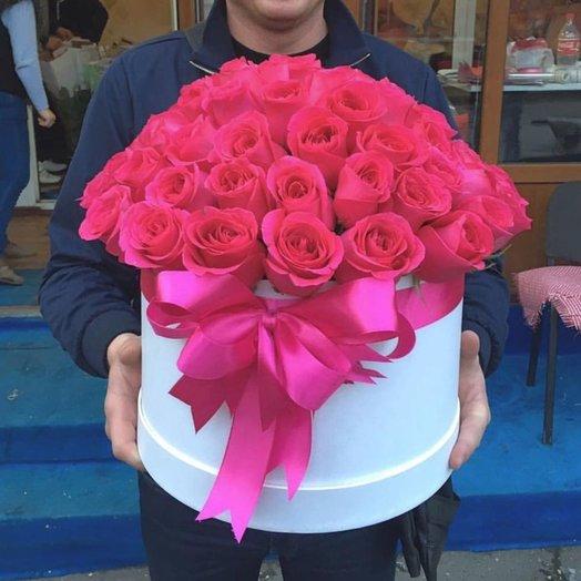 Коробка Пинк Флоид Аромат мира: букеты цветов на заказ Flowwow