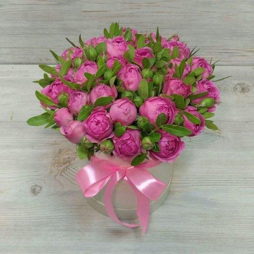 Мисти Баблс  в коробке: букеты цветов на заказ Flowwow