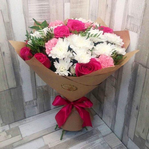 Вспыхнувшее чувство: букеты цветов на заказ Flowwow