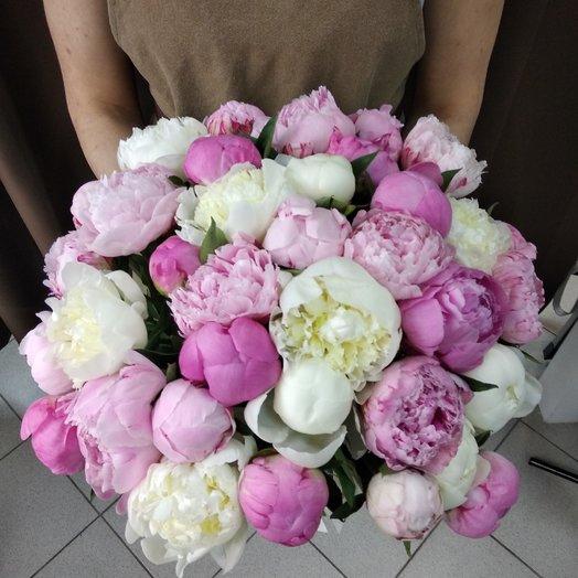 35 ароматных пионов: букеты цветов на заказ Flowwow