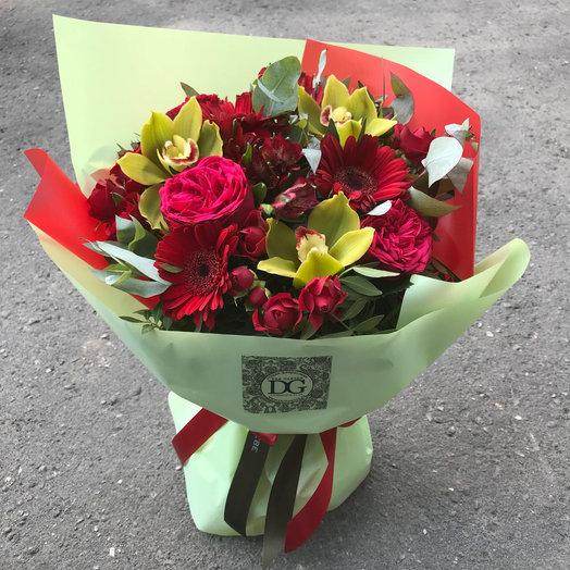 Клубничный фреш: букеты цветов на заказ Flowwow